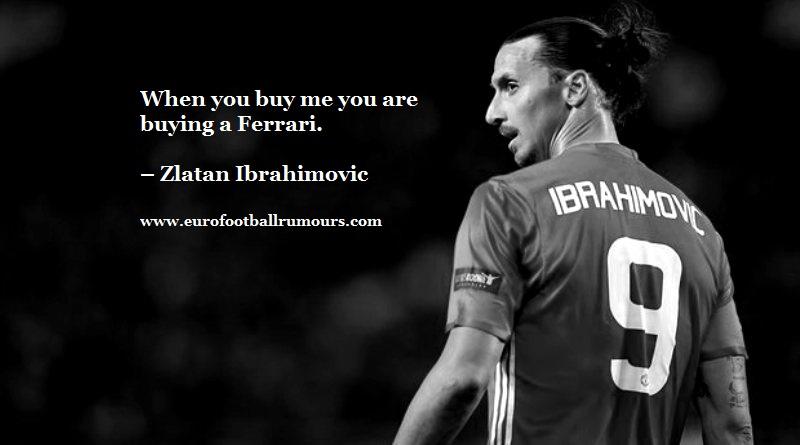 Football Quotes 6 Zlatan Ibrahimovic