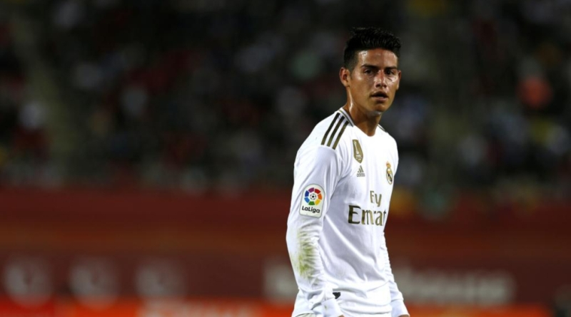 Manchester United Eyeing Move For James Rodriguez